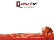 4 Eyes Ltd – VAT & Customs Consultants